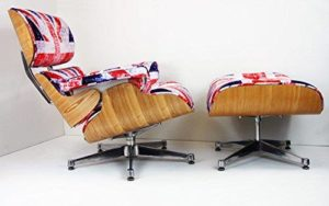 Charles Eames Chair - ASHWOOD - Union Jack