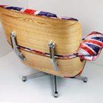 Charles Eames Chair - ASHWOOD - Union Jack
